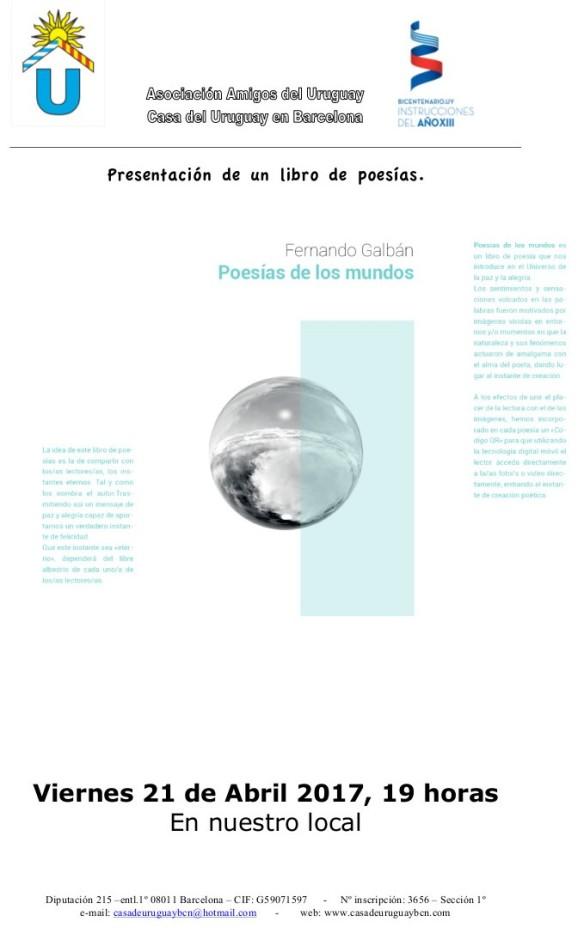 Presentacion.POESIAS